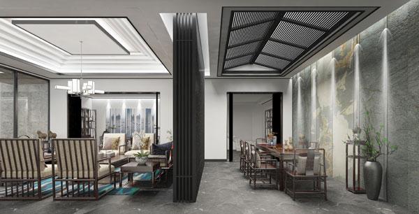 司设房新中式展厅空间