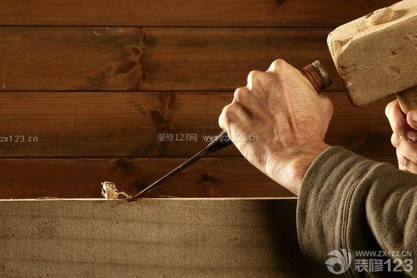 专业的家装木工